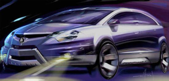 2007 Acura RDX Concept Car Picture