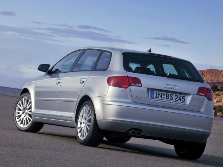 Rear left 2005 Audi A3 Sportback Car Picture