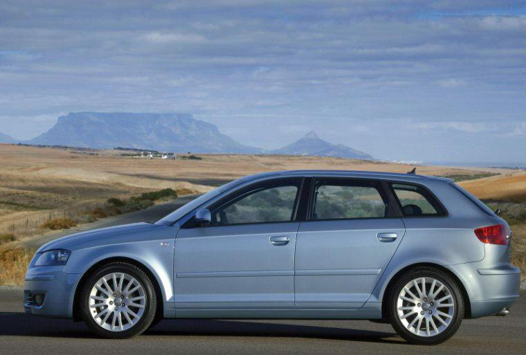 Left Side 2005 Audi A3 Sportback  Car Picture