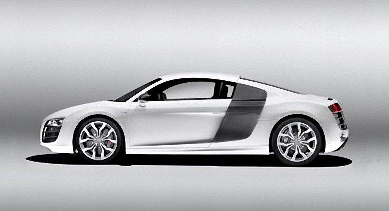 Left Side 2009 Audi R8 Car Picture