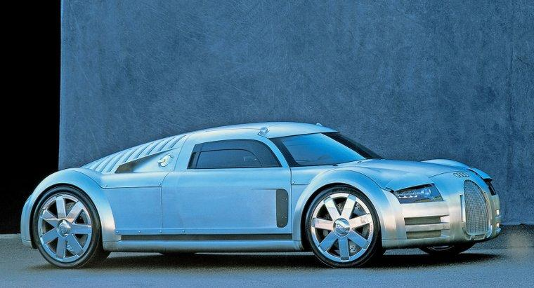 2000 Audi Rosemeyer Concept Car Picture