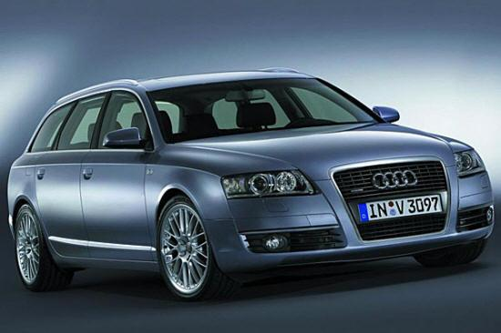 Front Right Audi A6 Avant Car Picture