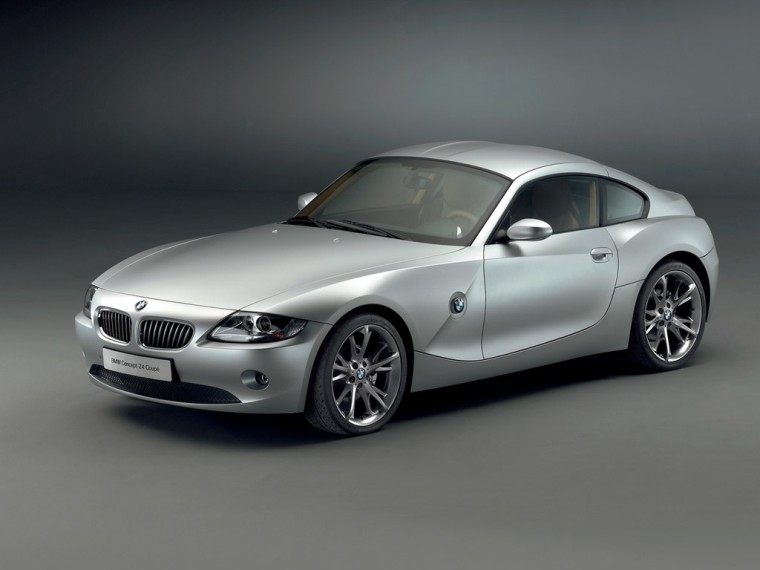 Front Left 2005 BMW Z4 Concept Car Picture