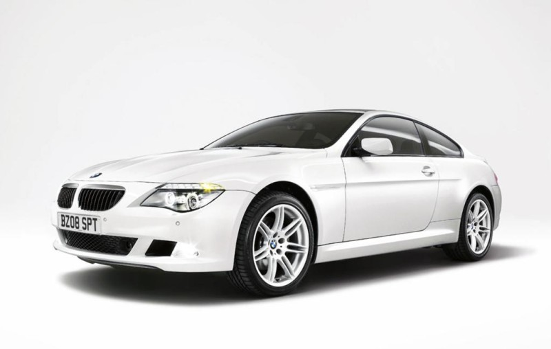 Front Left 2008 BMW M6 Car Picture