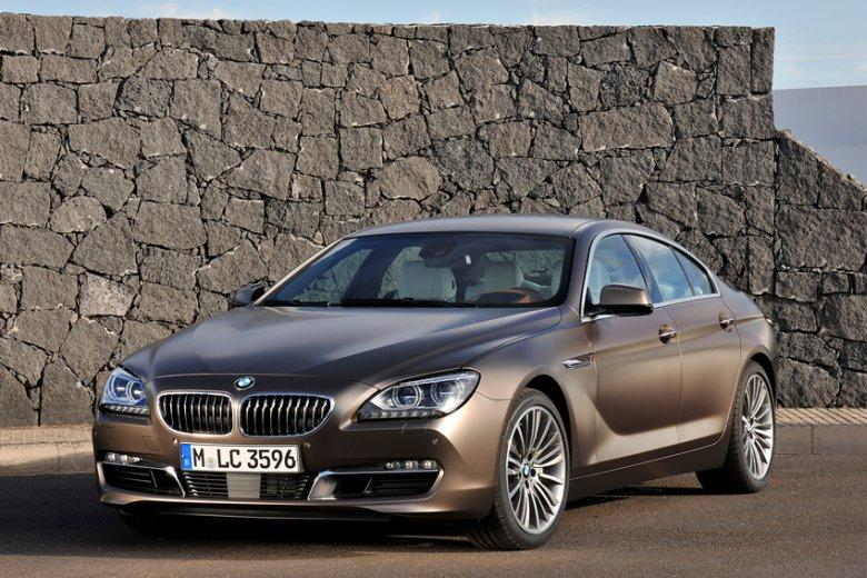 Front Left Bronze 2013 BMW 6 Series Car Picture