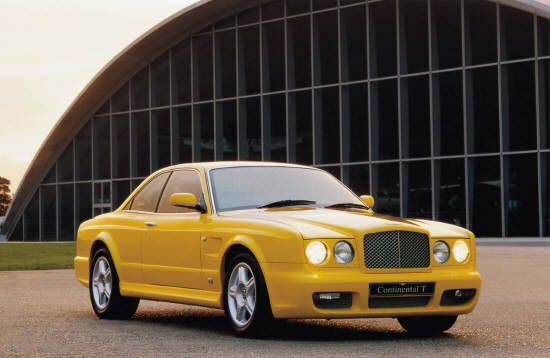 2001 Bentley Continental T Car Picture