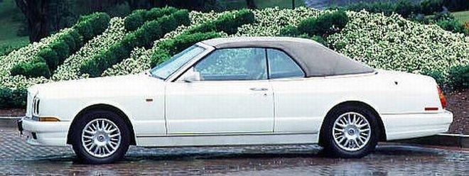 Left Side 1997 Bentley Azure Car Picture