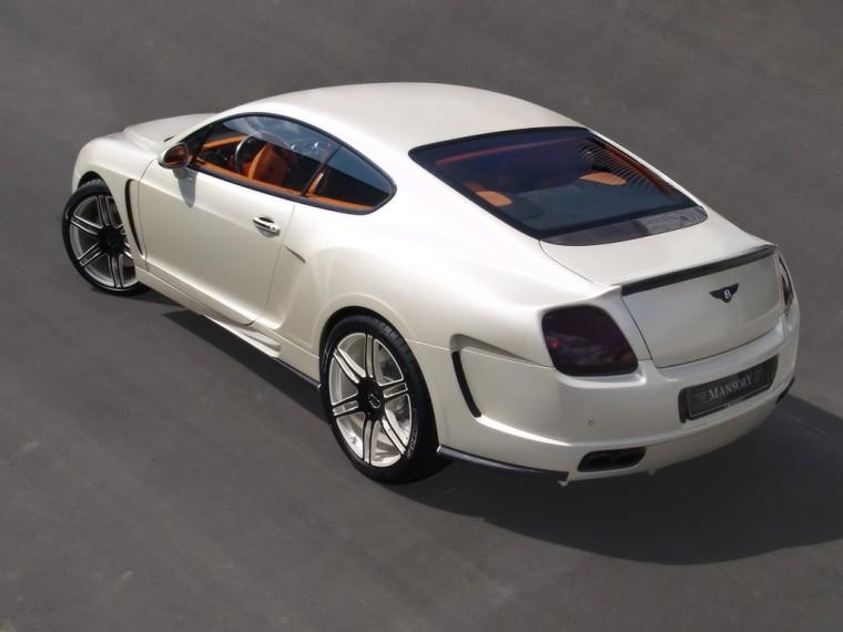 Rear Left 2008 Bentley LeMansory Continental GT Car Picture
