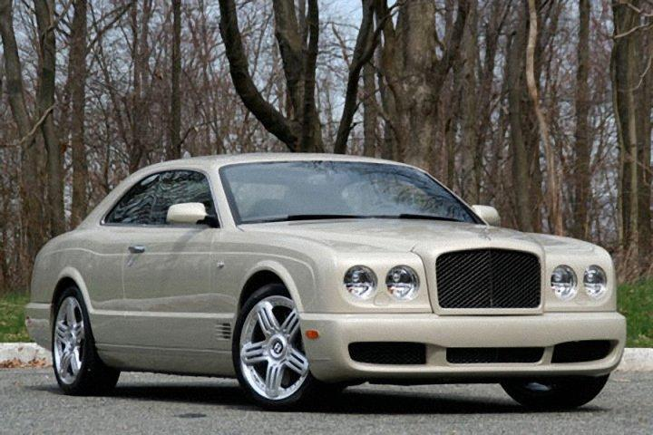 Front Left 2009 Bentley Brooklands