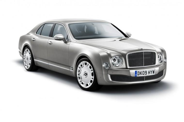 Front Right 2011 Bentley Mulsanne Concept Car Picture