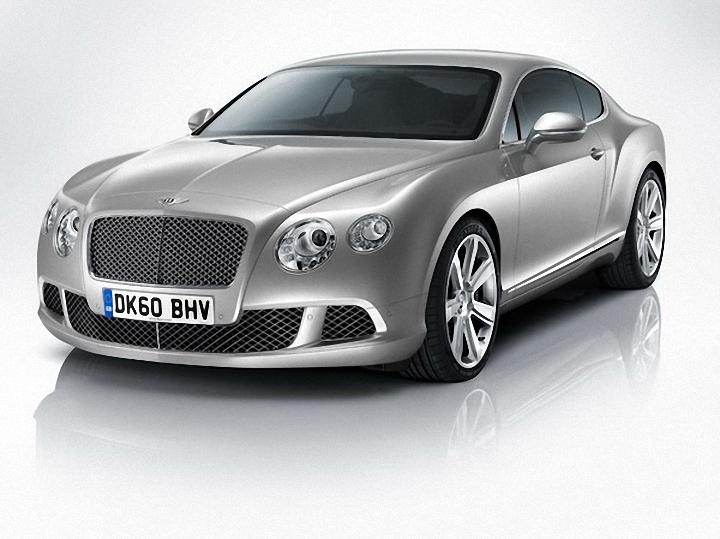 Front Left 2012 Bentley Continental GT Car Picture