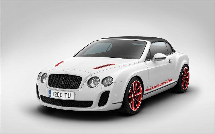 Front Left 2012 Bentley Continental SuperSports Car Picture