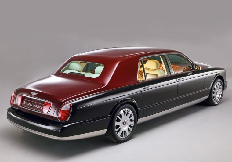Right Rear Bentley Arnage Car Picture