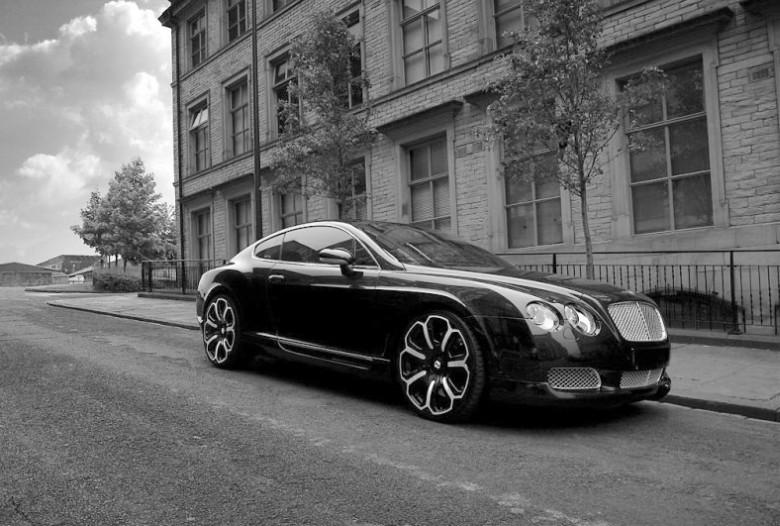 Front Right 2008 Kahn Bentley Continental GTS Car Picture