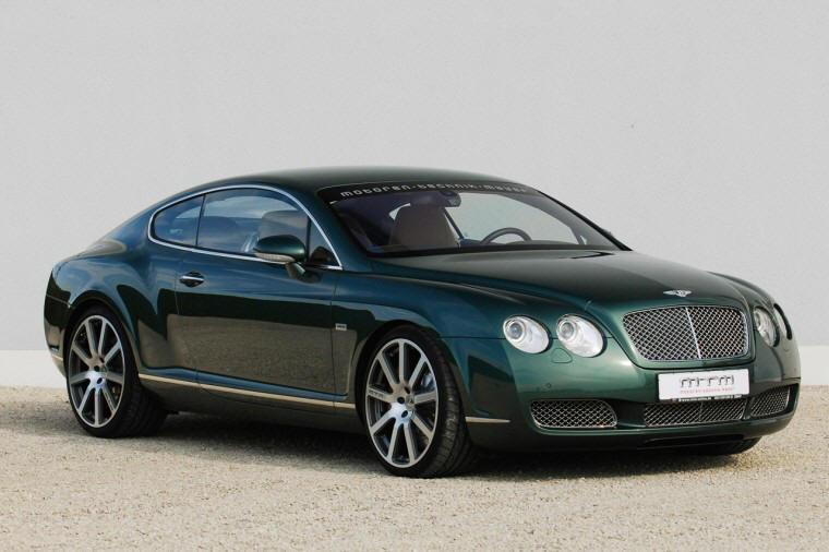 Front Right Bentley MTM Continental Car Picture