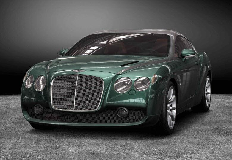 Front View Bentley Continental GTZ Car PIcture