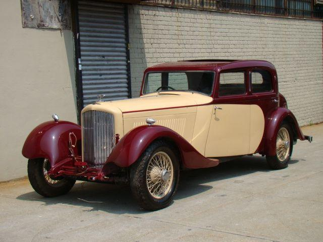 Front Left 1934 Bentley Derby Sedan Car Picture