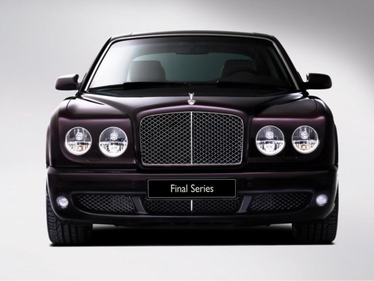 Front View 2009 Bentley Arnage Car Picture