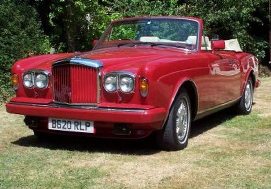 1985 Bentley Continental Car Picture