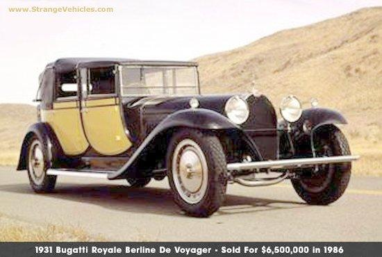 1931 Bugatti Royale Berline Car Picture