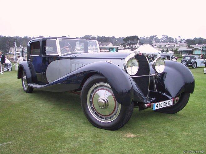 Front Right 1932 Buggati Type 41 Car Picture