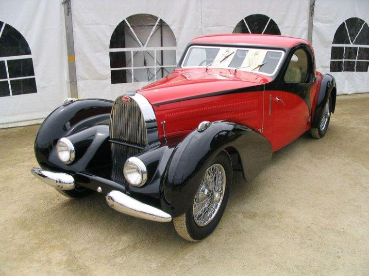 1936 Bugatti T57 Atlantic Car Picture