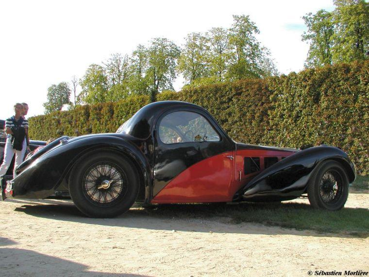 1936 Bugatti T57 SC Car Picture