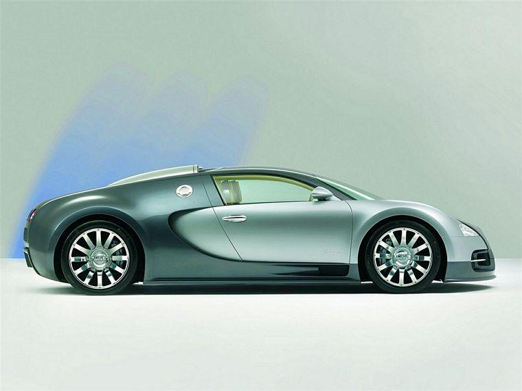 Right side green 2006 Bugatti Veyron Car Picture