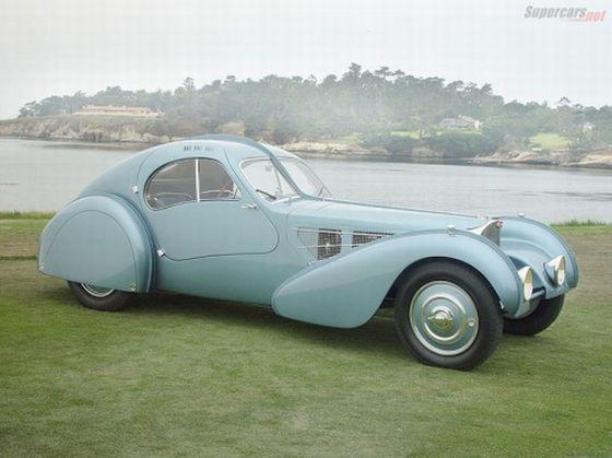 1935 Bugatti T57 Atlantic Car Picture