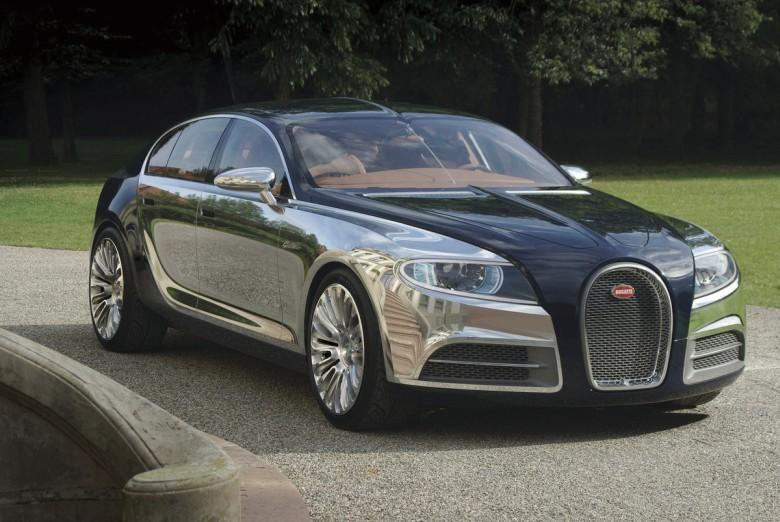 Front Right 2010 Bugatti Galibier Concept Car Picture