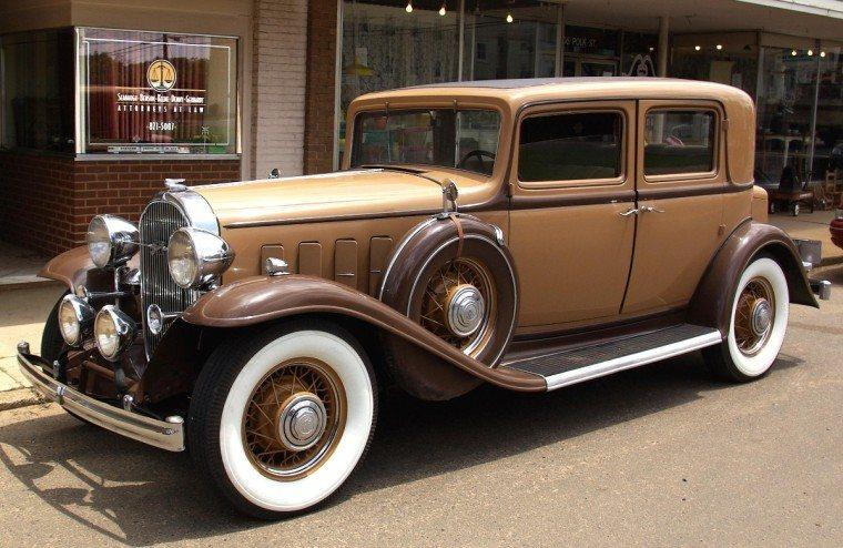 Front Left 1932 Buick Town Car Picture