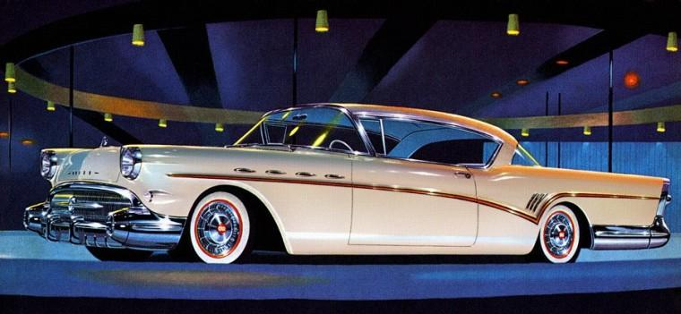 Front Left 1957 Buick Roadmaster Car Picture