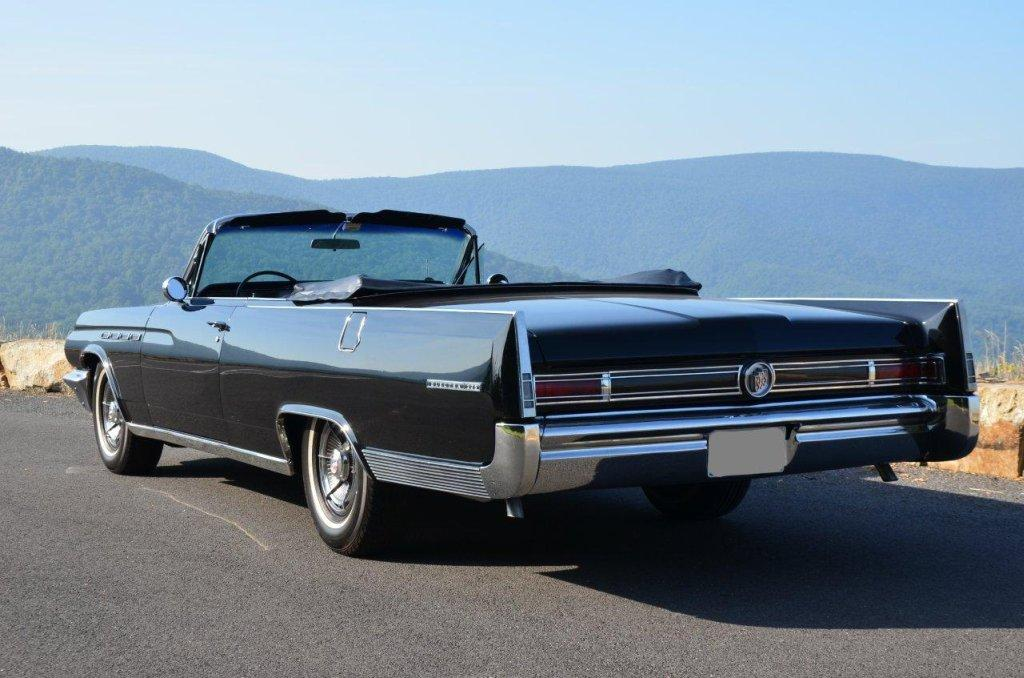 Rear Left Black 1963 Buick Electra 225 Car Picture