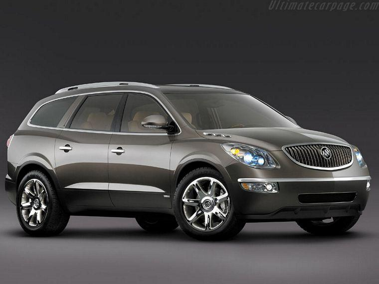 Front Right 2006 Buick Enclave Concept SUV Picture