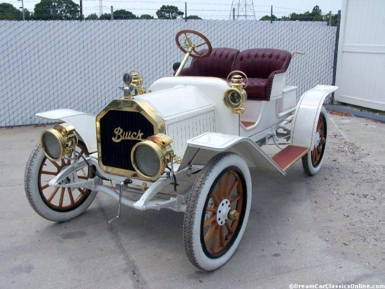 1908 Buick Model 10 Car Picture