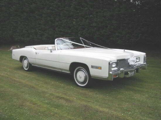 1976 Wedding Cadillac Eldorado Car Picture