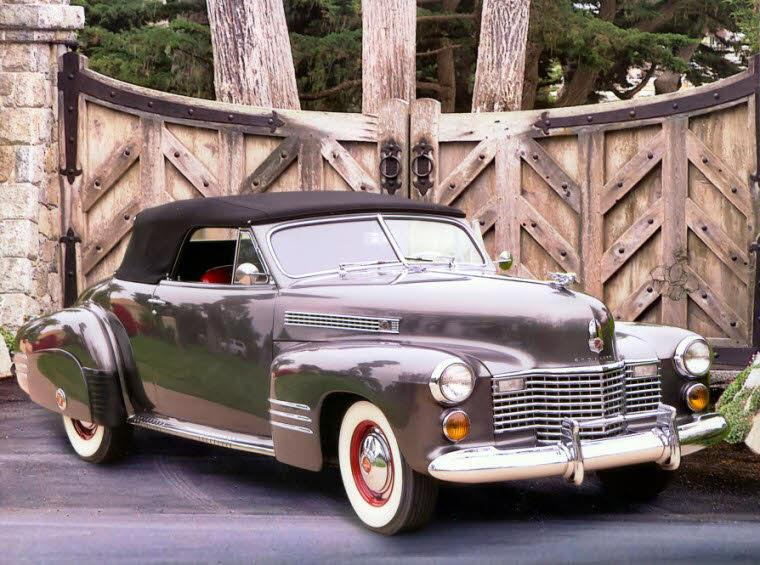 Front Right 1941 Cadillac Series 41 Car Picture