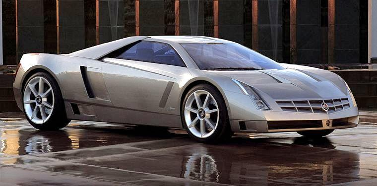 Front Right 2002 Cadillac Cien Concept Car Picture