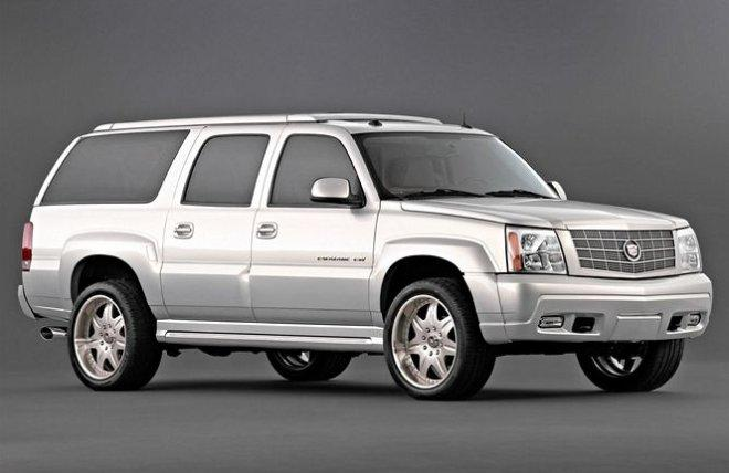 Front Right 2003 Cadillac Escalade ESV SUV Picture