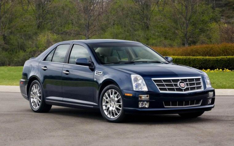 Right Front 2008 Cadillac STS Car Picture