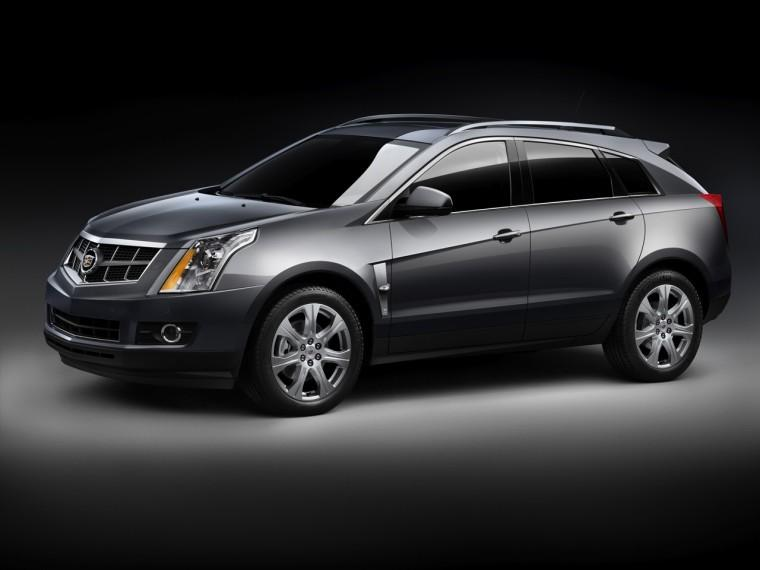 Front Left 2010 Cadillac SRX CUV Picture