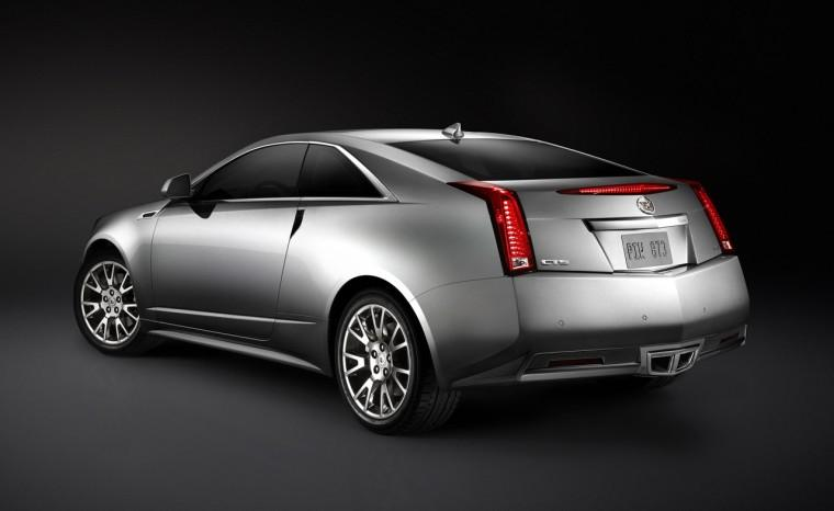 Rear Left 2011 Cadillac CTS Coupe Car Picture