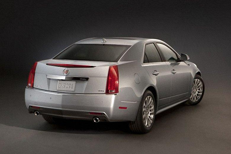 Rear Right Silver 2012 Cadillac CTS Car Picture