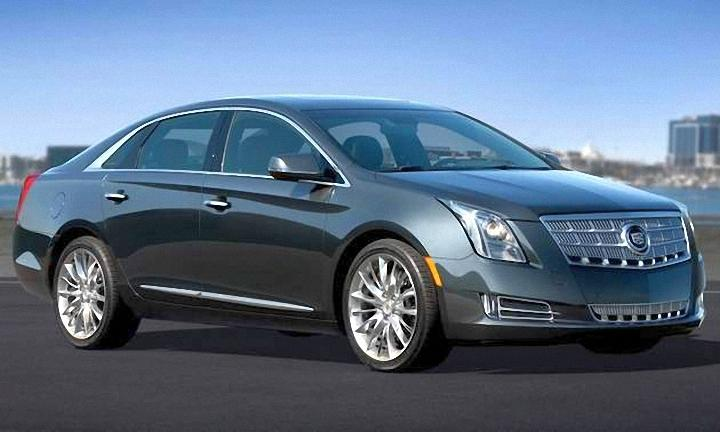 Front Right 2013 Cadillac XTS Car Picture