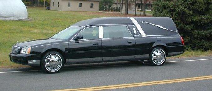 2001 Cadillac Eagle Funeral Hearse Car Picture