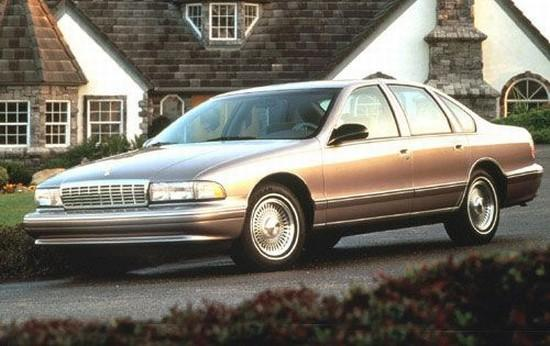 Front left Silver 1996 Chevrolet Caprice Car Picture