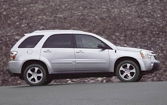 Right Side 2005 Chevrolet Equinox LT Car Picture