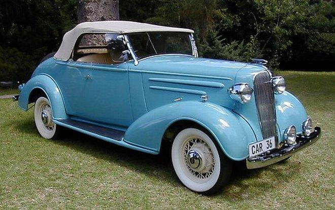 1936 Chevrolet Cabriolet Car Picture