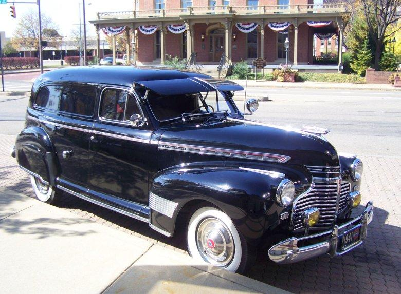 Front Right Black 1941 Chevrolet Special Deluxe Delivery Van Picture