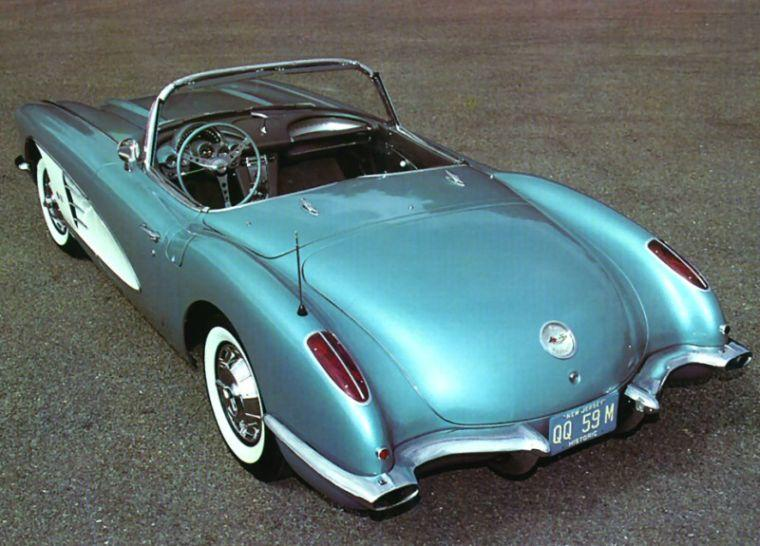 1959 Chevrolet Corvette Convertible Car Picture